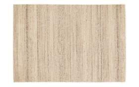 Teppich Natura Wool Plain in natur, 65 x 130 cm