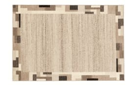 Teppich Natura Wool Kaja in natur, 65 x 130 cm