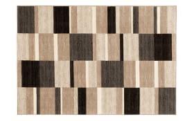 Teppich Natura Wool Mata in cappuccino, 65 x 130 cm