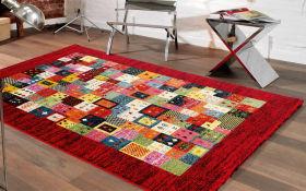 Teppich Happiness Pardis in kastanie 160 x 230 cm