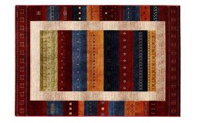 Teppich Shine Lori in multicolor, 65 x 130 cm