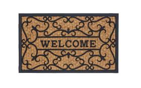 Türmatte mit Welcome-Motiv, 45 x 75 cm