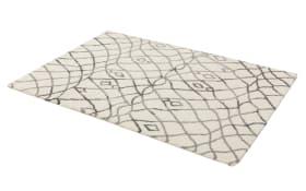 Webteppich Rivoli in grau, 200 x 290 cm