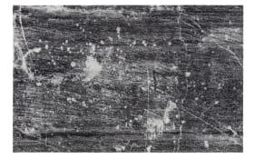 Teppich Lavandou in schwarz, 70 x 110 cm