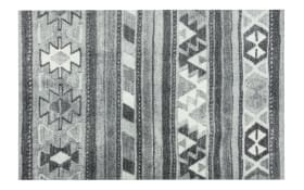 Teppich Lavandou in grau-schwarz, 70 x 110 cm