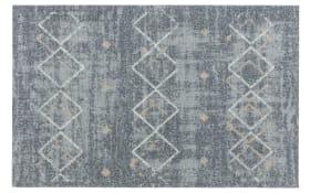 Teppich Lavandou in grau, 70 x 110 cm