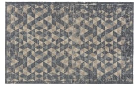 Teppich Lavandou in braun, 70 x 110 cm