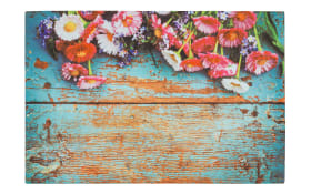 Türmatte Eco Living Vintage-Blumen, 40 x 60 cm