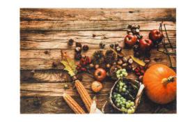 Fußmatte mit Herbst-Motiv, in 40 x 60 cm