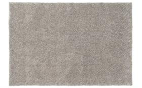 Teppich Emotion in silber, 70 x 140 cm