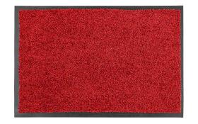 Fußmatte Proper Tex Uni in rot, 40 x 60 cm