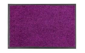 Fußmatte Proper Tex Uni in burgund, 60 x 90 cm
