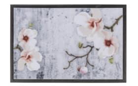 Fußmatte Print im Blumen-Motiv, 40 x 60 cm
