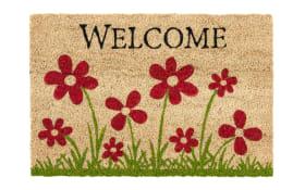 Fußmatte Coco Style im Blumenwiesen-Motiv, 40 x 60 cm