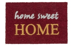 Fußmatte Coco Glitter - home sweet home mit Glitzereffekt, 40 x 60 cm