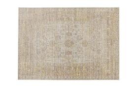 Teppich Shining in grau/gelb, 140 x 200 cm