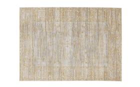 Teppich Shining in gelb/grau, 140 x 200 cm