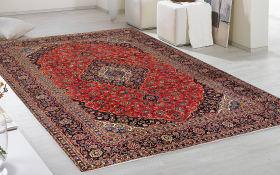 Teppich Persischer Keshan in rot, 250 x 350 cm