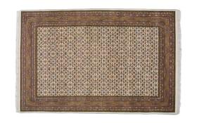 Teppich Herati in beige,  40 x 60 cm