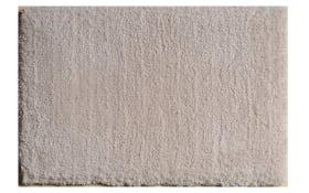 Teppich Shaggy Elegance in creme, 120 x 170 cm