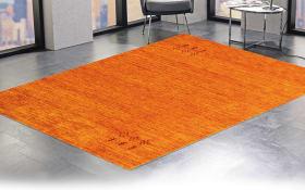 Teppich Gabbeh Loomi in rost, 40 x 60 cm
