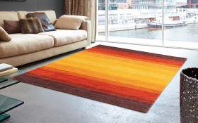 Teppich Rainbow in bunt 250 x 350 cm