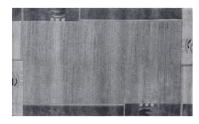 Teppich Nepal Silky in Design grau, 40 x 60 cm