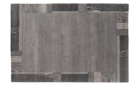 Teppich Nepal Premium in grau,  40 x 60 cm