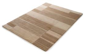 Teppich Nepal Premium in beige,  40 x 60 cm