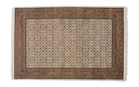 Teppich Herati Super in beige, 70 x 140 cm