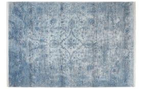 Teppich my Laos in blau, 80 x 150 cm