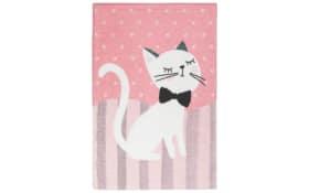 Teppich my Lollipop - Kitten in pink, 90 x 130 cm