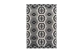 Teppich Ethnie 300 in grau, 80 x 150 cm