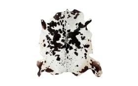 Kuhfellteppich Glam 210 in schwarz-weiß, ca. 1,35 qm