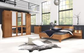 Schlafzimmer Rom in Erle-Optik