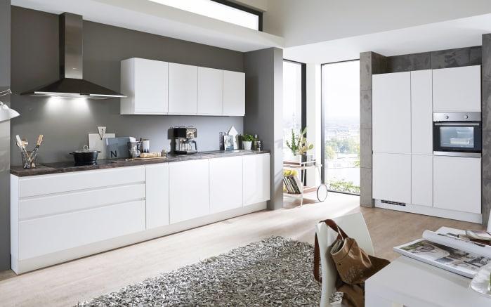 Einbauküche Inline in weiß