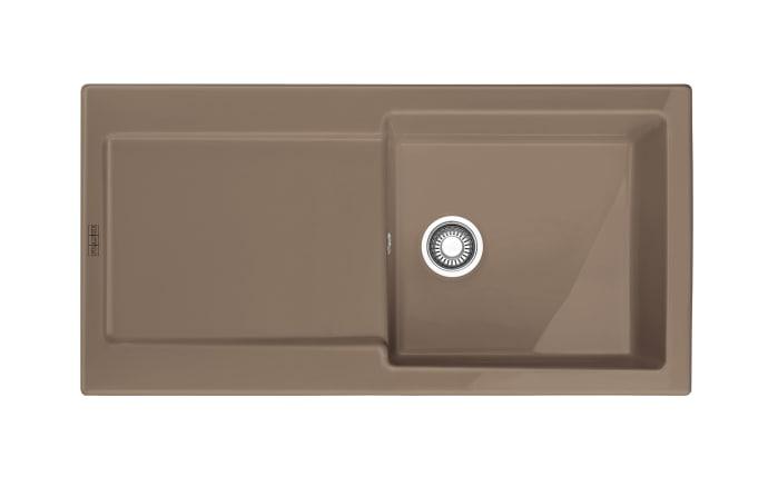 Keramik-Einbauspüle MRK 611-100 in cashmere