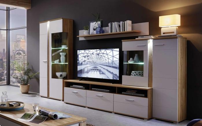 gallery of wohnwand spurt in beigebraun with wohnwand beige