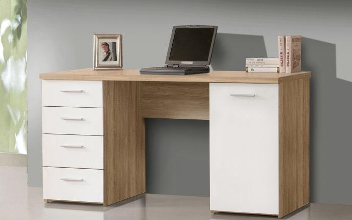 schreibtisch net 106 in sonoma eiche nachbildung online bei hardeck entdecken. Black Bedroom Furniture Sets. Home Design Ideas