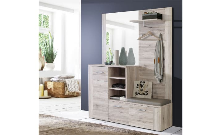 Garderobe Big Bang Sandeiche-Optik