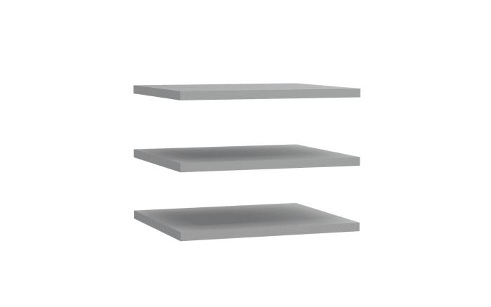 Einlegeböden Bellevue in grau, 3er-Set, Breite 48 cm