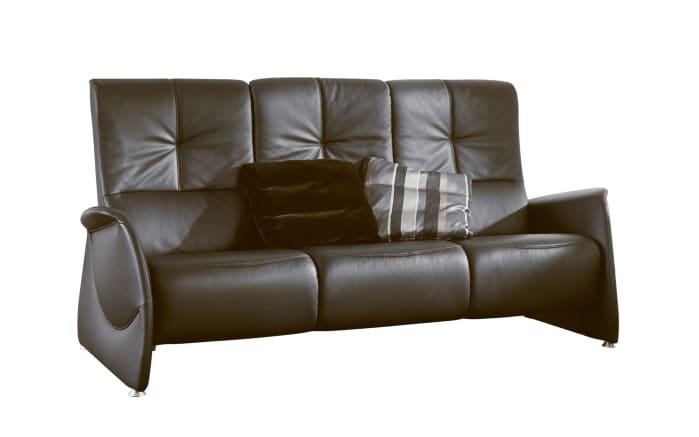 Sofa 3-Sitzer Cumuly in espresso,