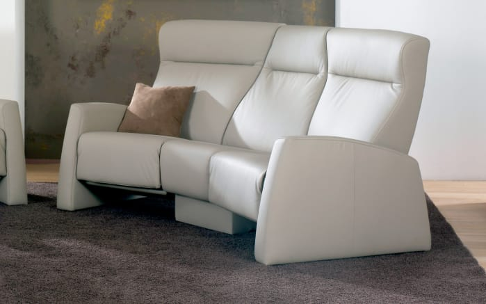 Trapez-Sofa 9103 Tangram Relax in grau