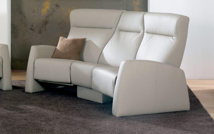 trapez sofa f r funktions ledergarnitur in grau online bei hardeck kaufen. Black Bedroom Furniture Sets. Home Design Ideas