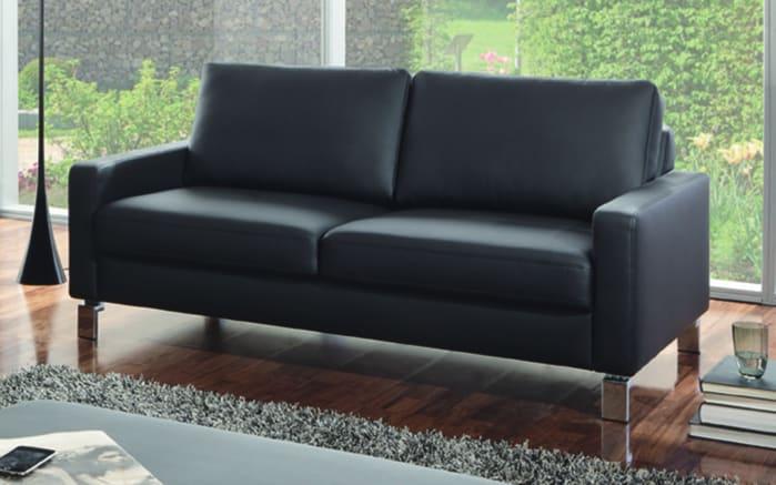 2,5-Sitzer LD 600 in schwarz