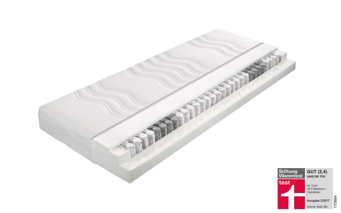 Matratze Unicor Taschenfederkern in 90 x 200 cm, H2