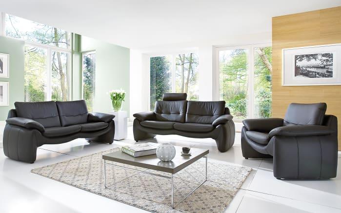ledersessel 525 in schwarz online bei hardeck entdecken. Black Bedroom Furniture Sets. Home Design Ideas