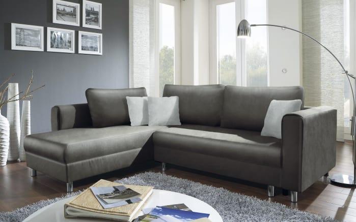 Funktions-Wohnlandschaft 153 in grey/silver