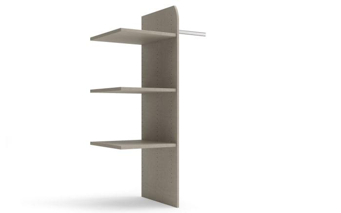 Wäscheeinteilung in grau für Fachbreite 90 cm