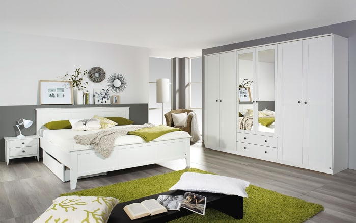 Schlafzimmer Rosenheim in weiß online bei HARDECK entdecken